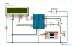 To build this LPG gas leakage detector using arduino uno, we used a LPG gas sensor module to detect LPG Gas. When LPG gas leakage occurs, it gives a HIGH pulse on its DO pin and arduino continuously reads its DO pin. Diy Electronics, Electronics Projects, Digital Food Scale, Raspberry Pi, Arduino Programming, Electronic Scale, Gas Detector, Arduino Board, Electrical Projects