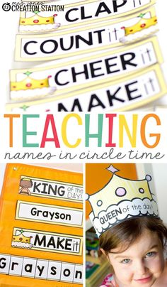 One of the first skills every student should learn is how to identify their own name. Every year when school starts up, kindergarten teachers are preparing lessons to help students learn their names. Are there ways to do this without your students getting Fun Classroom Activities, Name Activities, Kindergarten Activities, Preschool Activities, Preschool Learning, Classroom Organization, Classroom Management, When School Starts, Beginning Of The School Year