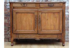19c French Fruit Wood Buffet | Vinterior London  #19thcentury #furniture #vintage #antique