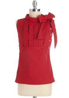 Summer Sangria Top in Red, @ModCloth