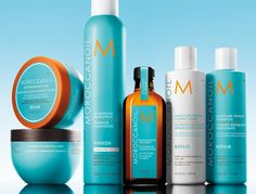 Moroccan oil products. The best hair products on the market, by far