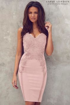 9f61f8baeca95 Buy Lipsy Love Michelle Keegan Appliqué Bodycon Dress from the Next UK  online shop