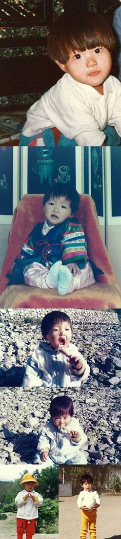 Song Joong-ki posted photos of his past