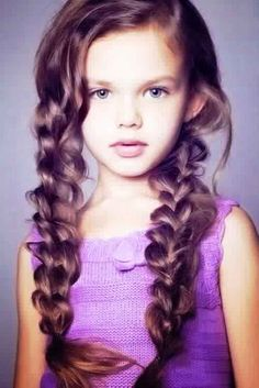 Curly Hairstyle kids