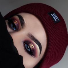 """75.1k Likes, 262 Comments - Morphe (@morphebrushes) on Instagram: """"Keep your eyes warm this fall @ayeeshabx used her #MorpheBrushes to add some heat to her eyes.…"""""""