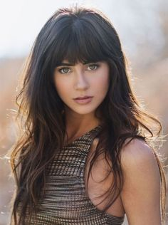 Long Hairstyles 2017 with Bangs latest ideas are here. If you are in love with the bangs look then try these Long Hairstyles 2017 with Bangs.