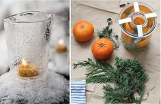 ice lanterns as holiday decor, Remodelista
