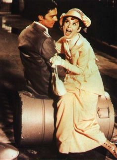My Fair Lady (1964) | Audrey Hepburn | Eliza Doolittle belting to Freddy: If You're in Love, Show Me! | One of Bri's favorite parts of the movie!