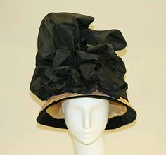 Hat Date: 1908–10 Culture: American or European Medium: straw Dimensions: [no dimensions available] Credit Line: Gift of Mrs. Eta Hentz, 1945 Accession Number: C.I.45.114.6
