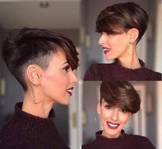 Pixie-Short-Hair Cute Short Haircuts and Styles Women Haircut Styles For Women, Short Haircut Styles, Cute Short Haircuts, Cute Hairstyles For Short Hair, Pixie Hairstyles, Pixie Haircut, Hair Styles, Short Styles, Messy Short Hair