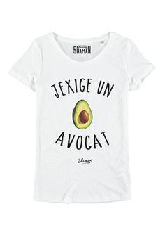 "Tee shirt ""Avocat"""