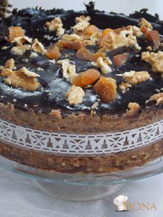 Raw Cake, Vegan Cake, Raw Desserts, Tej, Plant Based Diet, Cukor, Acai Bowl, Sugar Free, Paleo