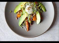 A carrot-avocado salad!! Gimme some!!