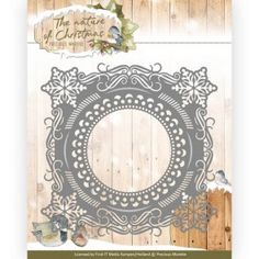 Christmas Snowflake Frame The Nature of Christmas Cutting Die