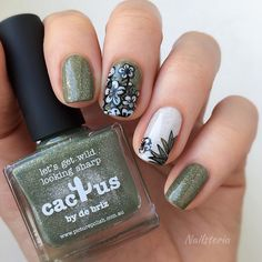 Tutorial 🌸 ⠀ Products use Stamping Plates, Nail Stamping, Cactus, Nail Art, Nails, With, Bardot, Tutorials, Flowers