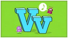 """ABC Song: The Letter V, """"Very V"""" by StoryBots (+playlist)"""