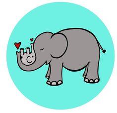 elefante mamá