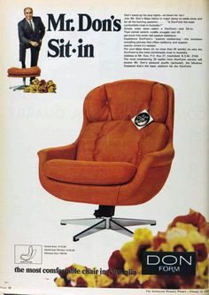 I like vintage stuff. Mostly from Much of the content here comes from the Australian Women's Weekly. Gaming Chair, Snuggles, Old Things, This Or That Questions, Vintage Stuff, Chairs, Australia, Furniture, Living Room