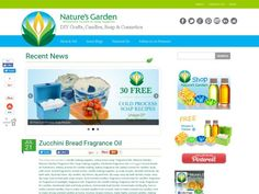 Natures Garden Fragrance Oils #CandleMakingSuppliers #SoapMakingSuppliers #WholesaleScents