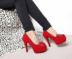 Mai Bouchots Boutique Shoes NR1374 (Red) click pic and see moar