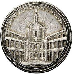Sant'Ivo alla Sapienza のメダル (JZ)の画像:やれとほ通信
