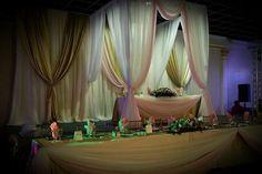 Fresno Golden Palace Banquet Hall  Décor by Maty's Linen