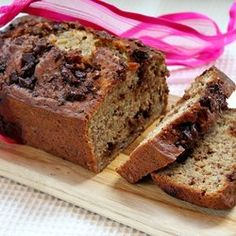 Skinny Chocolate - Caramel Banana Bread — Punchfork