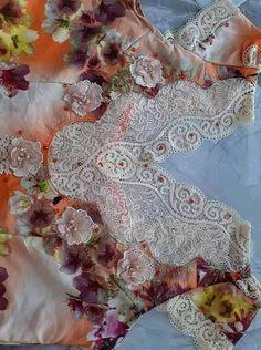 Abaya Fashion, Fashion Dresses, Traditional Dresses, Dressmaking, Design, Style, Crochet, Dress And Cardigan