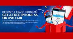 Capitaltrustmarkets|| DEPOSIT AND TRADE PROGRAM GET A FREE IPHONE 5S OR IPAD AIR - FxBonusinfo || Forex Bonus Informer, fxbonusinfo, forex no deposit bonus, forex deposit bonus,