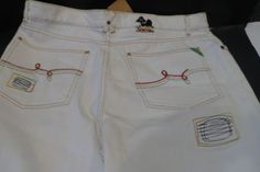 LR-Geans-by-LRG-Classic-Fit-47-White-Size-40-Make-Jeans-not-war-NWT