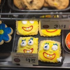 These pretty terrifying SpongeBob cookies. | 19 Dessert Fails That Will Chill You To Your Very Core