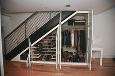 stairwell closets - Google Search                                                                                                                                                     More