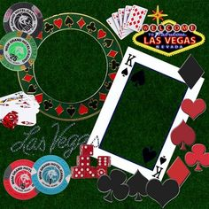 Las Vegas scrapbook page. Bachelor party idea. Full but few pictures needed!