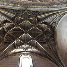 Ceiling detail... Just incredible... #cathedral  #segovia  #spain