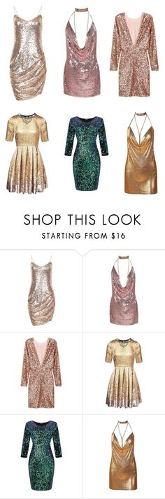 """""""Metalic Shimmer"""" by princessqtpi ❤ liked on Polyvore featuring Matthew Williamson"""