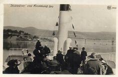 Skibladner ved Minnesund bru brukt 1925 foto: Wilse