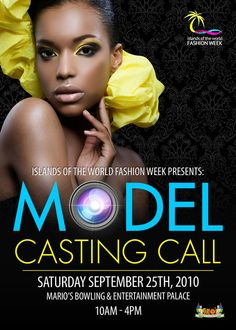 Casting Call example for wording Invite