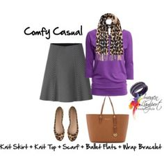 comfy casual skirt