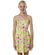 ROXY KIDS GIRLS BELLA DRESS - SILVER PINK on http://www.surfstitch.com