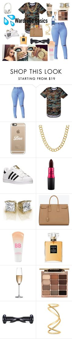 """""""G-Herbo"""" by og-icey98 on Polyvore featuring Casetify, Coach, adidas, Hard Candy, Beats by Dr. Dre, Yves Saint Laurent, Maybelline, Chanel, Rogaška and Stila"""