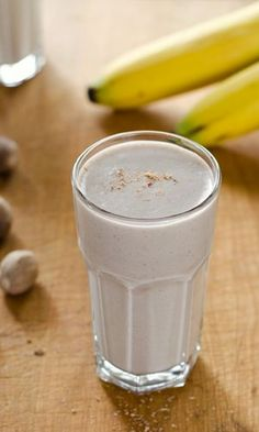 Paleo Banana Bread Smoothie is a quick breakfast or snack. And it's dairy-free, gluten-free, and refined sugar-free. | cookeatpaleo.com
