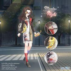 Fashion Games, Fashion Outfits, Nikki Love, Chinese New Year 2020, Mirai Nikki, Touching Stories, Anime Outfits, Fantasy Creatures, Fairy Tales