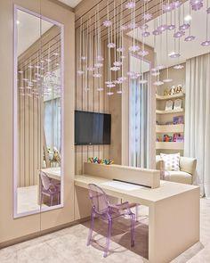 Trendy home office quarto criativo ideas Cute Room Decor, Teen Room Decor, Room Ideas Bedroom, Bedroom Decor, Pretty Room, Girl Bedroom Designs, Trendy Home, Awesome Bedrooms, Dream Rooms