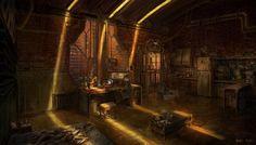 Lich Room by ~jonone (Ashton or Trinity house interior)