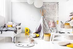 Kinderkamer inspiratie: een vleugje geel