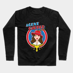 Agent Peggy Carter, S.s.r. Crewneck Sweatshirt