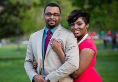 Real Engagements: {Washington, D.C.} Daishaé & Warren! - Blackbride.com