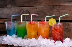 5 different drink recipes - I love the names drink-it-up recipe-ideas recipe-ideas foodstuff-i-love