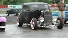 32 FORD COUPE * CRAZY FLATHEAD ENGINE 3-2's * OLD SCHOOL HOT ROD * BEAUT...