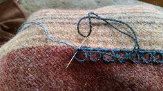 Oseberg Chain Stitch: Step 3